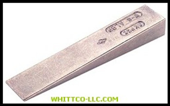 """W-1  AMPCO SAFETY TOOLS  1/2""""X3"""" WEDGE  065-W-1"""