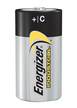 Energizer Industrial C Alkaline Battery (Bulk)   Sold  in Increments (UOM)  EA Min. quantity of 12     Mfg. part# EN93