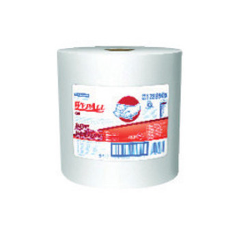 """Kimberly-Clark Professional* 11.1"""" X 13.4"""" White WypAll* X90 Heavy Duty Cloth Wipers (450 Sheets Per Roll)   Sold  in Increments (UOM)  RL Min. quantity of 1     Mfg. part# 12889"""