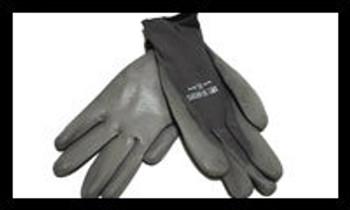 POLYURETHANE NYLON SHELL COATED Gloves Gray (50-6639G
