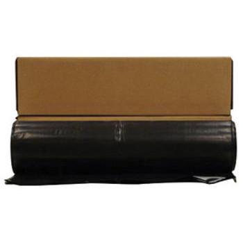 CF1020B Sheeting 20 X 100 10MIL BLACK Husky  Plastic Sheeting-Vapor Barrier