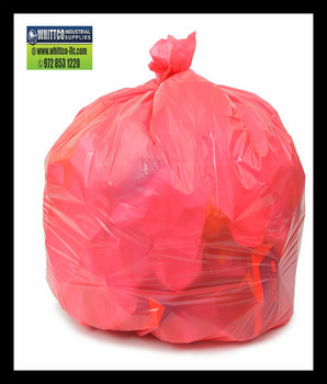 PC36XHR  Red 30x36 .70 mil can liners 200 bags Environmentally Preferred Can Liners