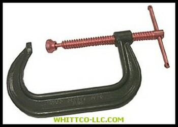 "ANCHOR 404C 4"" DROP FORGED C-CLAMP
