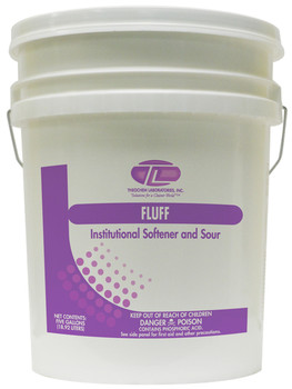 100007-1P-FLUFF-Laundry Fabric Softener THEOCHEM|WHITTCO Industrial Supplies