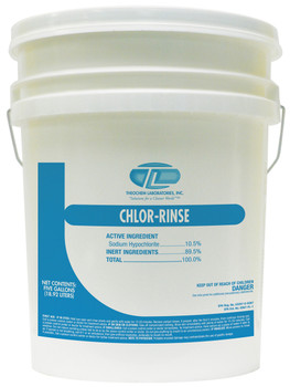 100030-1P-CHLOR-RINSE-Dishwasher Detergent THEOCHEM|WHITTCO Industrial Supplies