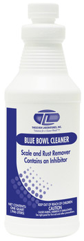 100923-1Q-BLUE BOWL CLEANER-Bathroom Cleaners THEOCHEM|WHITTCO Industrial Supplies