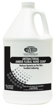 103570-2G-AMBER FLORAL ANTIBACTERIAL-Hand Washes THEOCHEM|WHITTCO Industrial Supplies