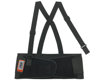 WORK WEAR 1650-Economy Elastic Back Support  : XS : Black