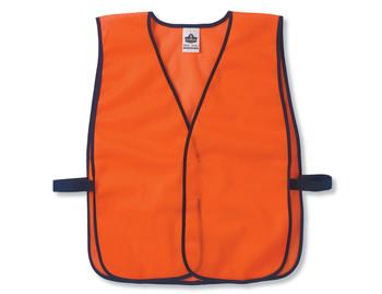 WORK WEAR 8010HL-Non-Certified Economy Vest  :  : Orange