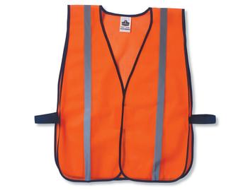 WORK WEAR 8020HL-Non-Certified Standard Vest  :  : Orange