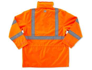 GLoWEAR-8365-Hi-Vis Apparel-24313-Class 3 Rain Jacket