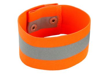 WORK WEAR 8001-Arm/Leg Band - Button Snap Closure  : S/M : Orange