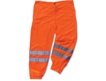 WORK WEAR 8910-Class E Hi-Vis Pants  : L/XL : Orange