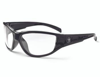 WORK WEAR Njord-Safety Glasses  : Clear Lens : Black