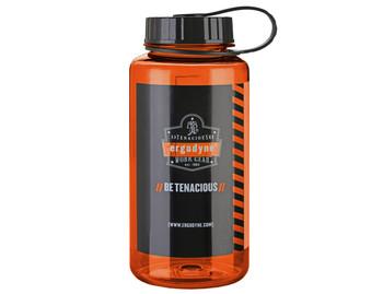 WORK WEAR 5151-Plastic Wide Mouth Water Bottle  : 1 ltr : Orange