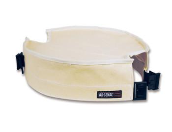 """WORK WEAR 5738-Canvas Bucket Safety Top  : 12.5"""" Diameter : White"""
