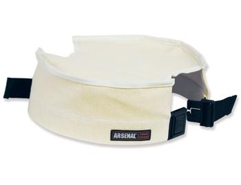 "WORK WEAR 5739-Small Canvas Bucket Safety Top  : 10"" Diameter : White"
