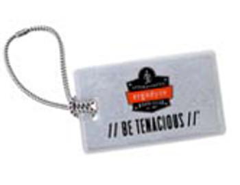 WORK WEAR BAG-TAG-Luggage Tag  :  : Silver