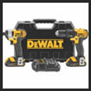 20V MAX LI-ION COMPACT DRILL & IMPACT COMBO KIT   Sold ONLY in the QUANTITY INCREMENTS  of  1 per & Packaged  1EA
