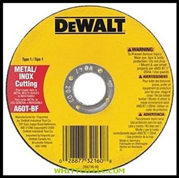 "4-1/2""X.045""X7/8"" THINCUTTING WHEEL DCW|DW8424|115-DW8424|WHITCO Industiral Supplies"