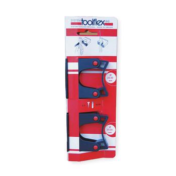 ToolFlex Aluminium Tool Holder 2 pack Grips CT-512-1