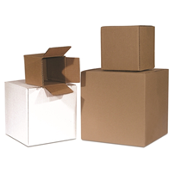 S-4062 Cube Boxes|6 x 6 x 6 200#  32 ECT 25 bdl. 1500 bale|BS060606