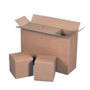 S-4615 Master Cartons|12 34 x 12 34 x 13 12 32ECT Master Carton holds 8-Pack of 6x6x6 Boxes|BS121213