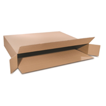 S-4554 Side Loading Boxes 36 x 5 x 30 F.O.L. 200#  32 ECT 20 bdl. 120 bale BS360530FOL