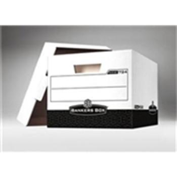 "Premium File Storage Boxes|Premium File Storage Box - 15 x 12 x 10"" Black (12case) - #076030  FEL00724|FSB150"