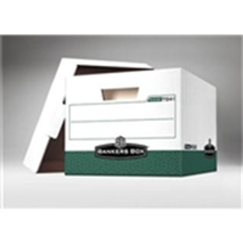 "Premium File Storage Boxes|Premium File Storage Box - 15 x 12 x 10"" Green (12case) - #406460  FEL07241|FSB160"