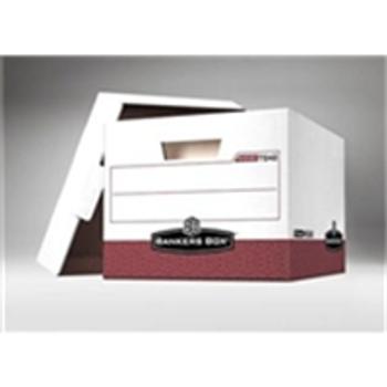 "Premium File Storage Boxes|Premium File Storage Box - 15 x 12 x 10"" Red (12case) - #406451  FEL07242|FSB180"