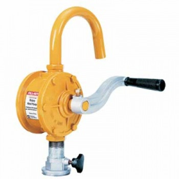 HAND PUMP ROTARY 2-VANECURVED SPOUT