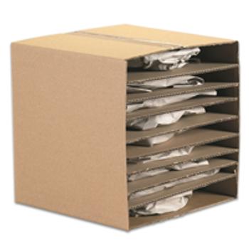 "Corrugated Layer Pads|13 78 x 13 78"" Corrugated Layer Pad|BSSP13"