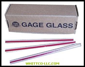 RL 5/8X36 GAUGE GLASS 58X36RL 055-58X36RL WHITCO Industiral Supplies