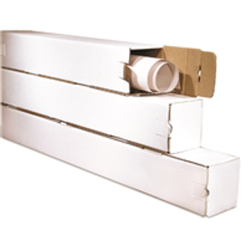 "BSM3318 Corrugated Mailing Tubes 3 x 3 x 18"" Square T"