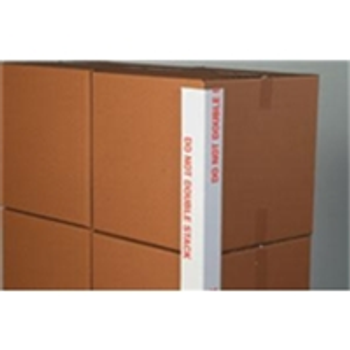 DO NOT DOUBLE STACK Printed Edge Protectors VBDEP3348160DS 3 x 3 x 48 .160 Do N