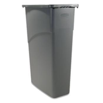 129505 Trash Containers 23 GALLON SLIM JIM C