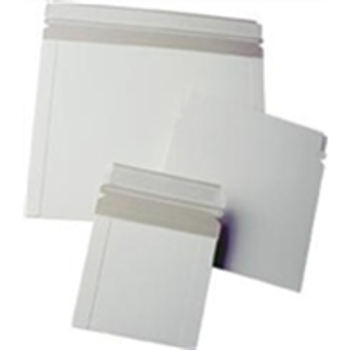 "ENVRM10SS White Self-Seal Catalog Style Paperboard Mailers 9 x 7"" #10PS-100 Whi"