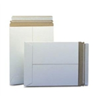 """Stayflats® Plus White Top-Loading Self-Seal Mailer ENVRM2PSWSS 9 x 11 1/2"""" #2PSW Wh"""