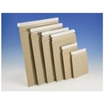 "ENVRM9PSKSS Stayflats® Plus Kraft Top-Loading Self-Seal Mailer 6 x 6"" #9PSK Kraft T"