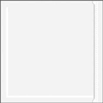 """ENVLNP66 Resealable/Zippered Clear Face Document Envelopes 6 x 6"""" Clear Face Do"""