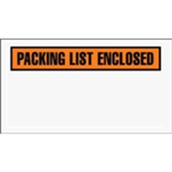 "ENVPQ24 Packing List Enclosed Envelopes 5 1/2 x 10"" Panel Fa"