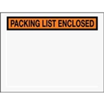 "Packing List Enclosed Envelopes ENVPQ25 6 1/2 x 5 "" Panel Fa"