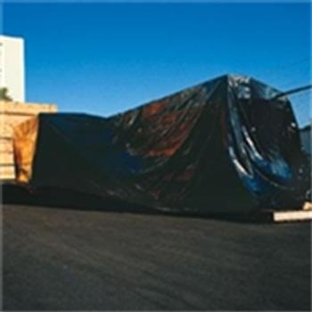 Heavy Duty Black Poly Sheeting, 4 MIL CF406B 6 x 100` 4 Mil Heavy
