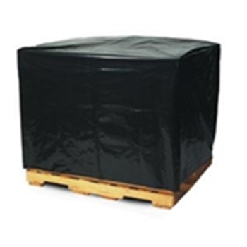 "PC160 Black Pallet Covers & Bin Liners, 3 MIL 51 x 49 x 85"" 3 Mil"