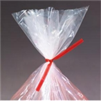 "PLT4R PlasticTwist Ties 4"" x 3/16"" Red Plast"