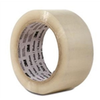 "TCS3T9023711000 3M Hot Melt Carton Sealing Tape 2"" x 1000 yds. 1.9 M"