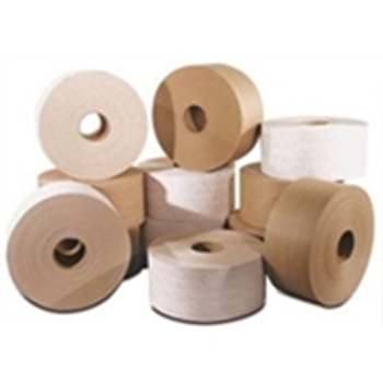 "TRTI76450MED Light Duty Reinforced Tape 76mm (3"") x 450' Kra"