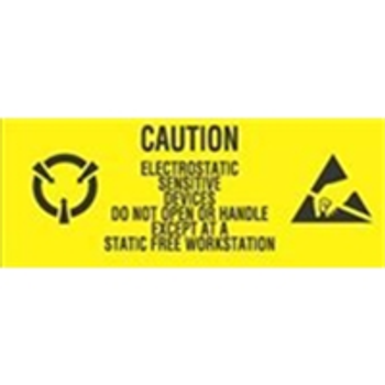 "Anti-Static Labels LABDL9060 #DL9060 1 x 2 1/2"" C"