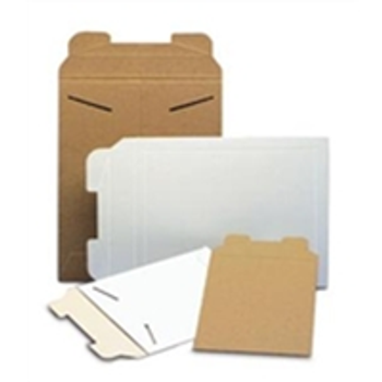 "Kraft Tab-Lock Paperboard Mailers - Close Out ENVRM1 6 x 8"" #1K-100 Kraft"